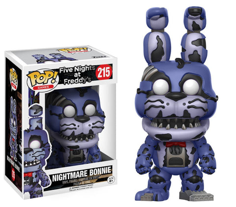 Nightmare Bonnie Funko Pop! Games Five Nights at Freddy's