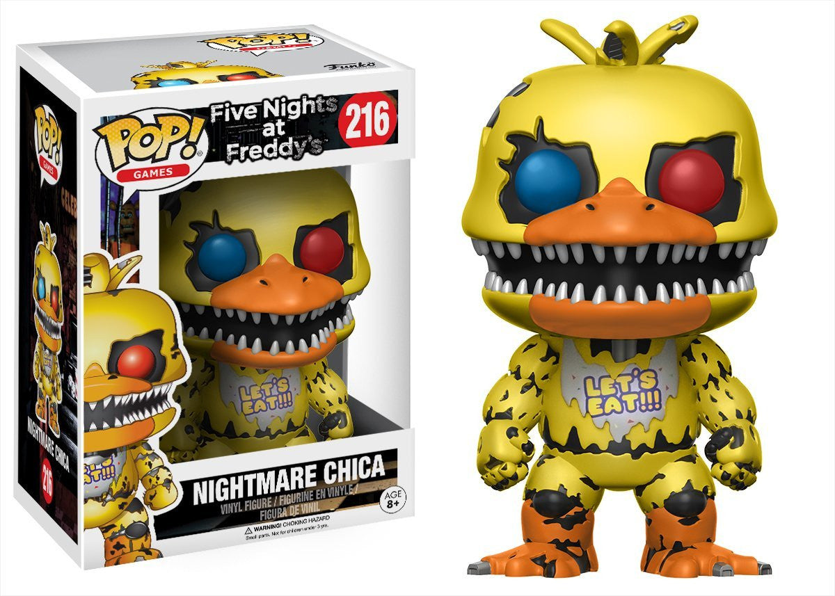 Nightmare Chica Funko Pop! Games Five Nights at Freddy's