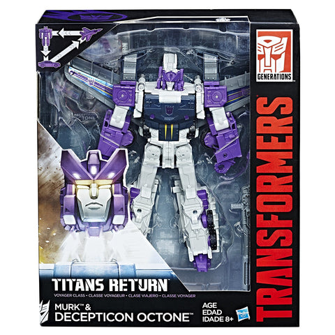 Octone & Murk Transformers Generations Titans Return Voyager Class