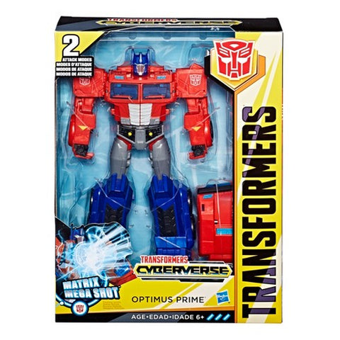 Optimus Prime Transformers Cyberverse Voyager Class
