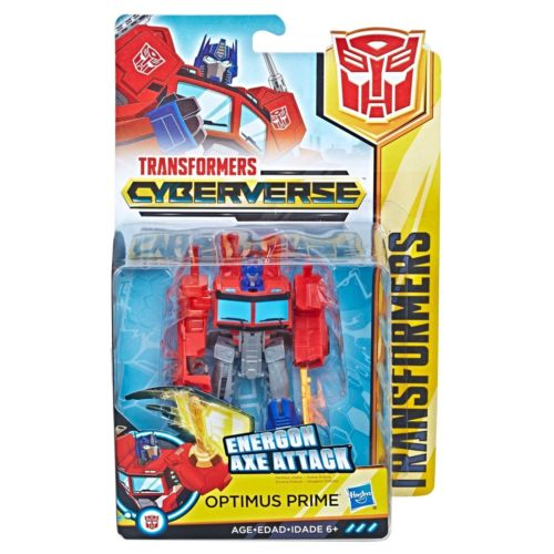 Optimus Prime Transformers Cyberverse Warrior Class