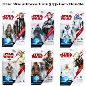 Star Wars Force Link 3.75 Inch Original Trilogy Action Figure Bundle