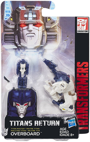 Overboard Transformers Generations Titans Return Masters