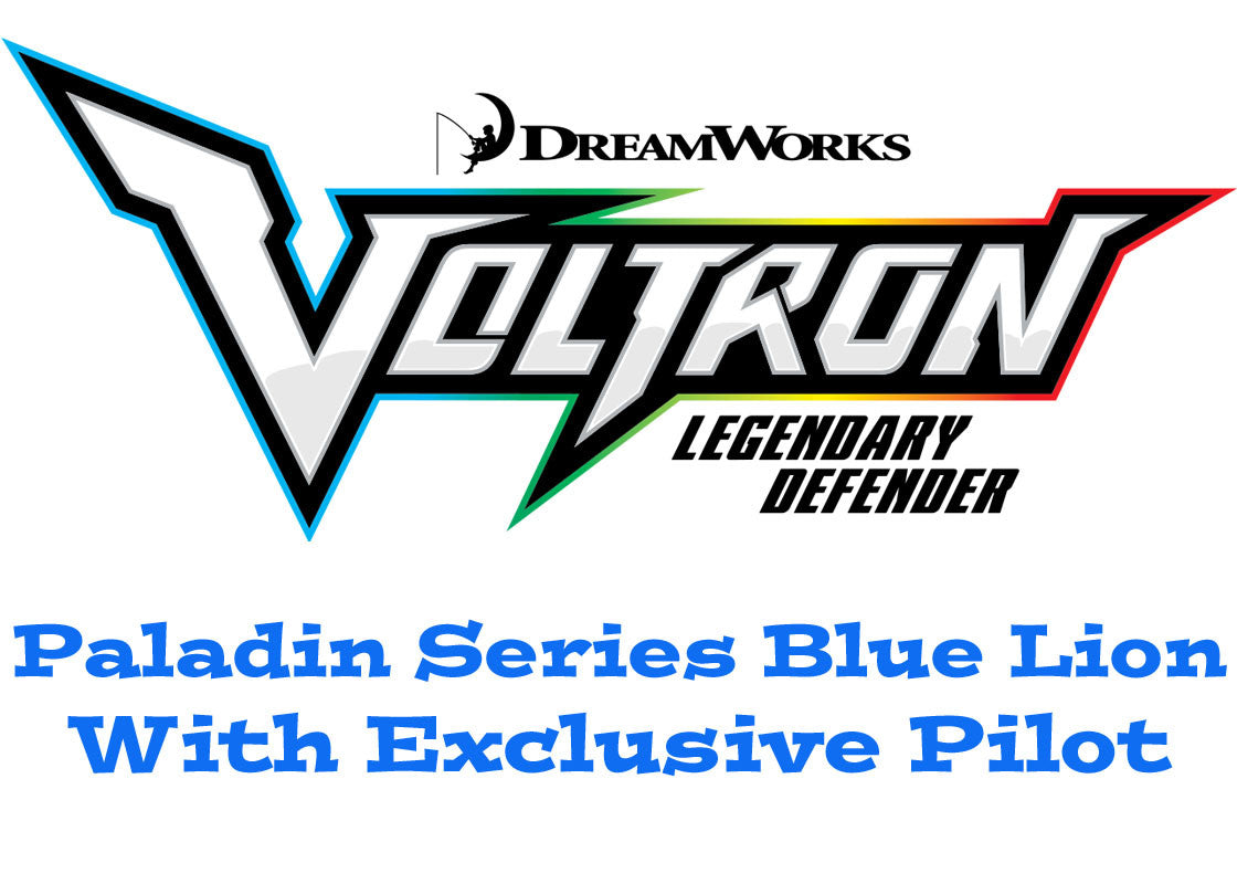 Paladin Series Blue Lion with Pilot Voltron The Legendary Defender