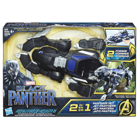 Black Panther 2-in-1 Panther Jet Vehicle