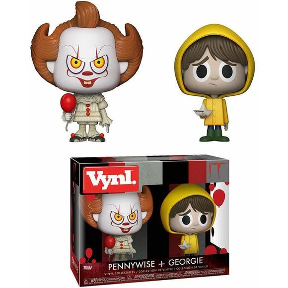 Pennywise and Georgie Funko VYNL Figure 2-Pack