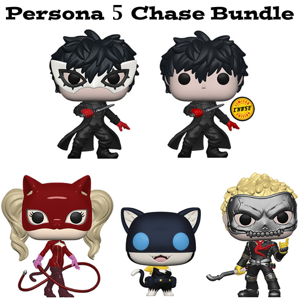 Persona 5 Funko Pop Games Chase Bundle