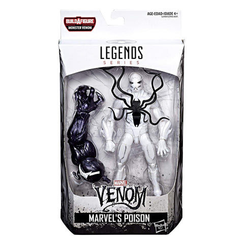 Poison Marvel Legends 6-Inch Action Figure Monster Venom Build-A-Figure Wave