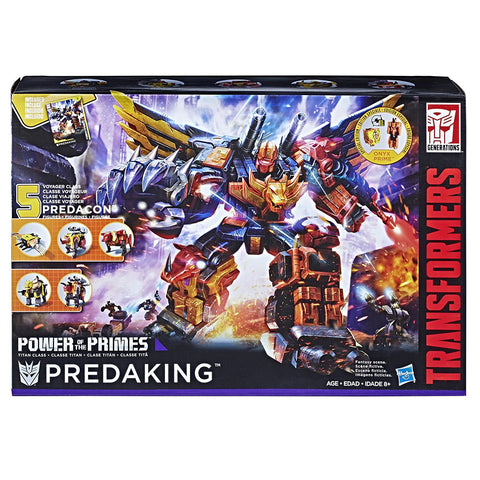 Predaking Transformers Generations Power of the Primes Titan Class
