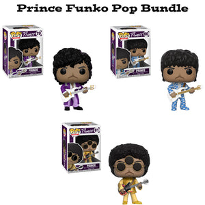 Prince Funko Pop Rocks Bundle