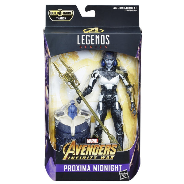 Proxima Midnight Marvel Legends 6-Inch Action Figure Avengers Infinity War