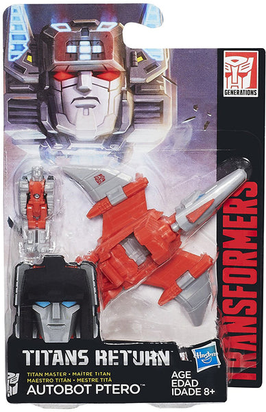 Ptero Transformers Generations Titans Return Masters