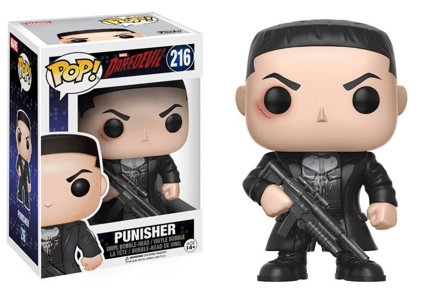 Punisher Funko Pop! Marvel Not Mint