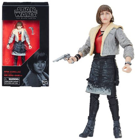 Qi'ra Corellia Solo a Star Wars Story The Black Series 6 Inch Figure
