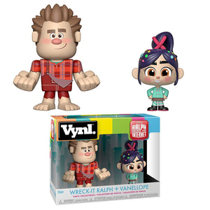Wreck-It-Ralph & Vanellope Funko VYNL Figure 2-Pack