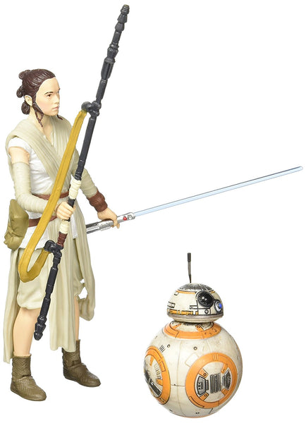 Rey & BB-8 Star Wars Force Awakens Black Series 6-Inch
