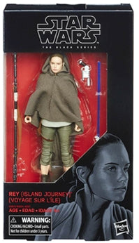 Rey Island Journey Star Wars The Last Jedi Black Series 6 Inch Figure