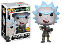 Weaponized Rick Chase Funko Pop! Animation Rick and Morty
