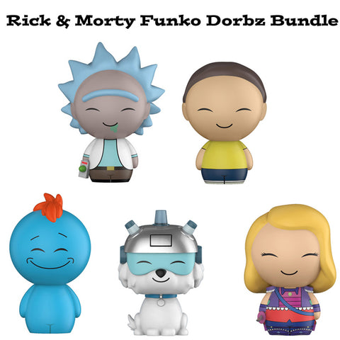 Rick and Morty Funko Dorbz Bundle