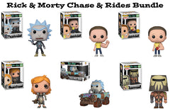 Rick & Morty Funko Pop! Chase & Rides Bundle