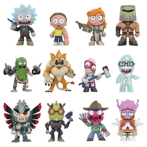 Rick and Morty Funko Mystery Minis