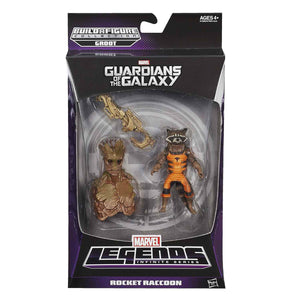 Rocket Raccoon Guardians Of The Galaxy Marvel Legends 6-Inch Action Figure Groot Build-A-Figure Wave