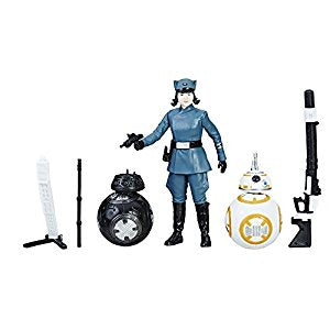 Rose, BB-8 and BB-9E Force Link 2.0 Star Wars 3.75 Inch Figure Pack