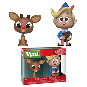 Rudolph and Hermey Funko Vynl 2-pack