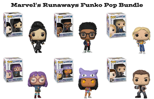Marvel's Runaways Funko Pop! Marvel Bundle
