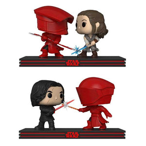 Star Wars The Last Jedi Funko Pop! Movie Moments Throne Room Set