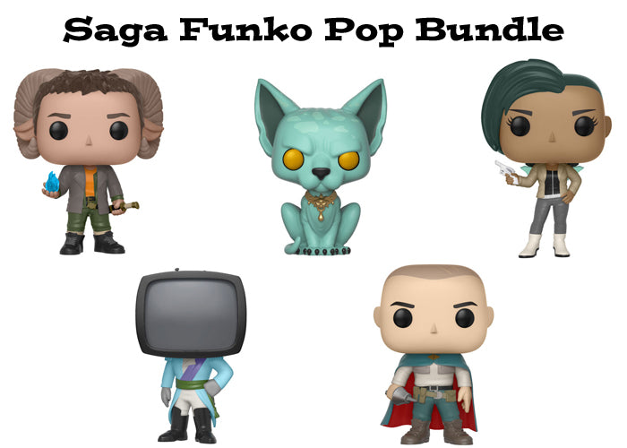 Saga Funko Pop! Comics Bundle