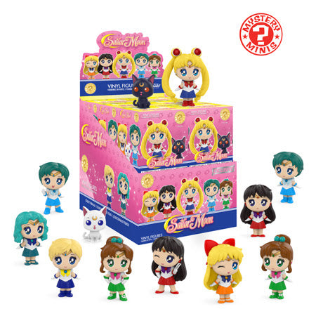 Sailor Moon Funko Mystery Minis Specialty Series Sealed Case