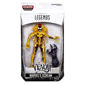 Scream Marvel Legends Monster Venom Build-A-Figure Wave