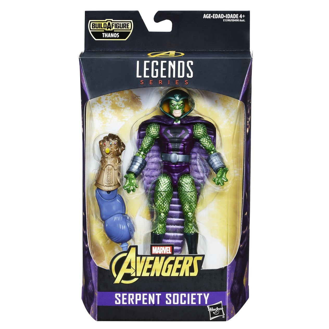 Serpent Society Marvel Legends 6-Inch Action Figure Avengers Infinity War