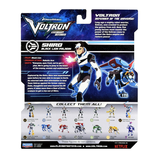 Shiro Voltron Legendary Defender Action Figure