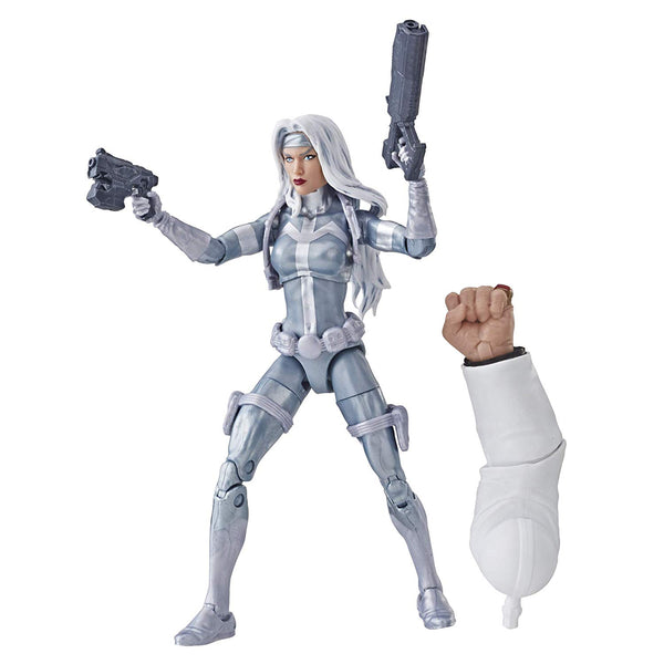 Silver Sable Marvel Legends 6-Inch Action Figure