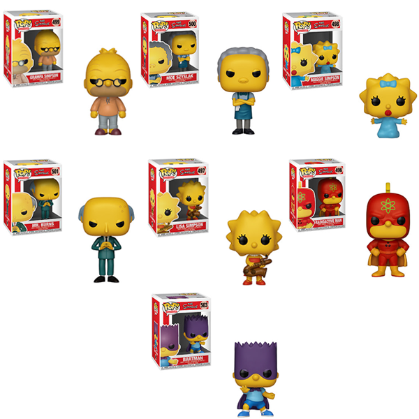 The Simpsons Funko Pop Animation Bundle