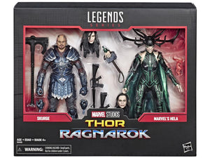 Skurge and Hela Marvel Legends 80th Anniversary 6-Inch Action Figure 2-Pack