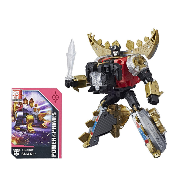Dinobot Snarl Transformers Generations Power of the Primes Deluxe Class
