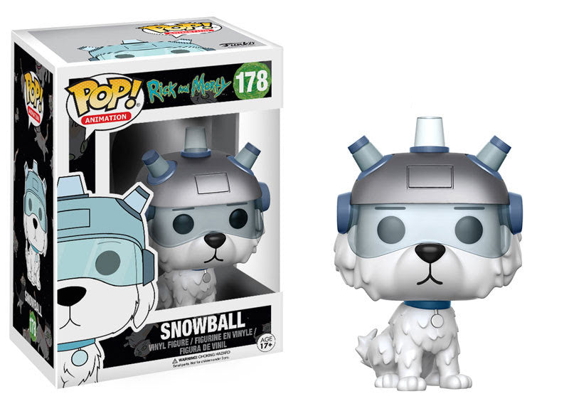 Snowball Funko Pop Rick and Morty
