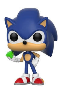 Sonic with Emerald Funko Pop! Games