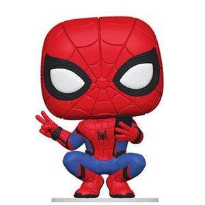 Spider-Man Crouching Funko Pop Marvel Spider-Man Far From Home