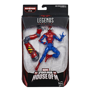 House of M Spider-Man Marvel Legends SP//dr Build-A-Figure Wave