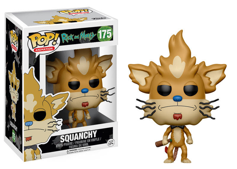 Squanchy Funko Pop Rick and Morty
