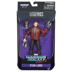 Star-Lord Guardians Of The Galaxy Marvel Legends 6-Inch Action Figure Titus Build-A-Figure Wave