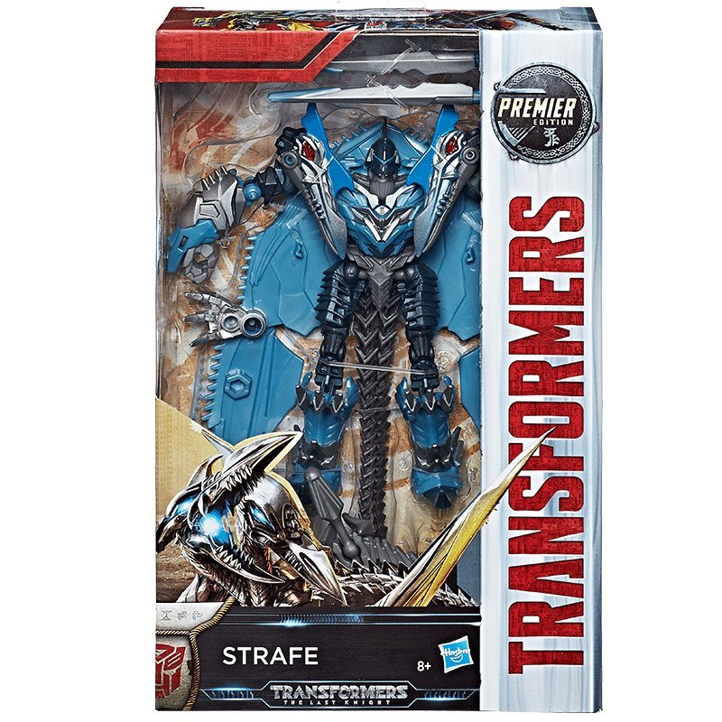 Strafe Transformers The Last Knight Premier Edition Deluxe Class
