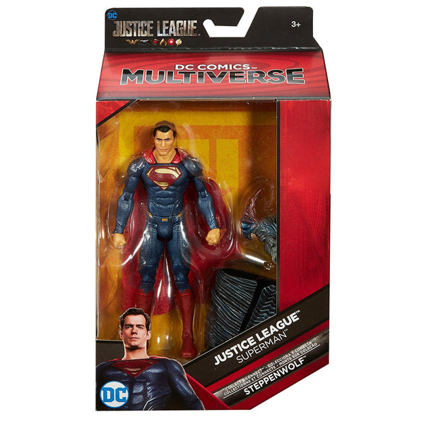Superman DC Comics Multiverse Justice League Action Figure