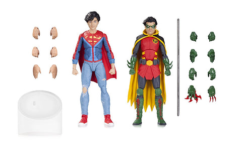Robin & Superboy DC Icons Action Figure