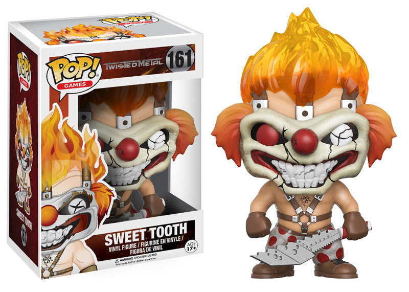 Sweet Tooth Funko Pop! Games Twisted Metal Not Mint