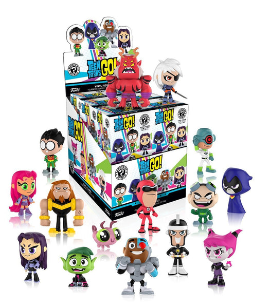 Teen Titans Go Funko Mystery Minis Single Box
